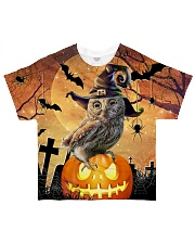 For Owl Lovers All-over T-Shirt front