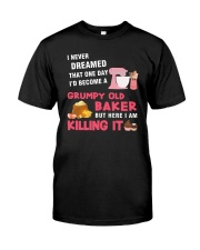 Grumpy Old Baker Classic T-Shirt front