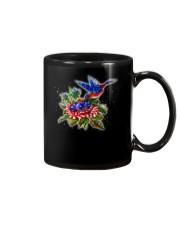 hummingbirds And Roses Mug thumbnail