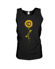 Quilting Sunflower Unisex Tank thumbnail