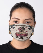 Butterfly I Am The Storm Cloth face mask aos-face-mask-lifestyle-01