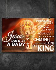 Jesus Born As A Baby 17x11 Poster poster-landscape-17x11-lifestyle-12