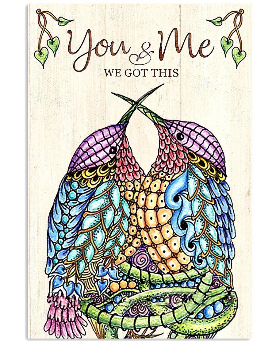 Hummingbird You And Me 11x17 Poster