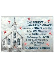 Jesus I Still Believe In Amazing Grace 17x11 Poster front