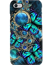 Butterfly Teal Phone Case i-phone-8-case
