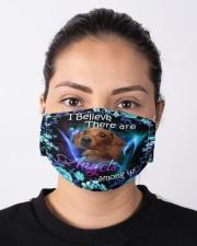 Dachshund Angel Mask Cloth face mask aos-face-mask-lifestyle-01