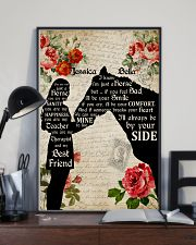 Horse Always Be By Your Side Poster 11x17 Poster lifestyle-poster-2
