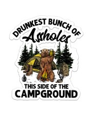 Campground  Sticker - Single (Vertical) front