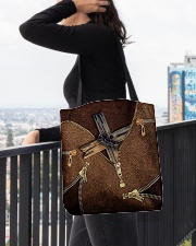 For Jesus Lovers All-over Tote aos-all-over-tote-lifestyle-front-05