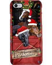 Horse Barn Christmas Phone Case  Phone Case i-phone-8-case