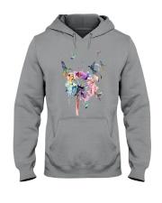 Hummingbirds And Dandelion Hooded Sweatshirt thumbnail