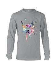 Hummingbirds And Dandelion Long Sleeve Tee thumbnail
