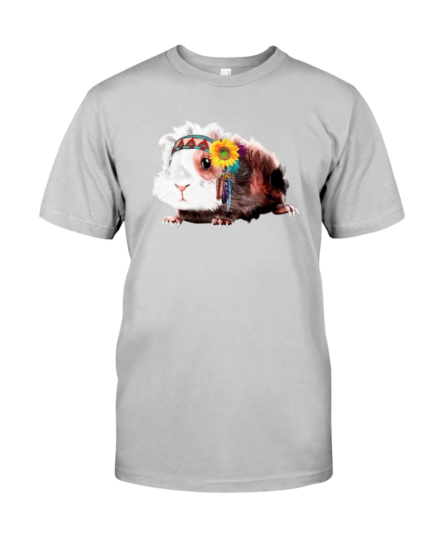 Guinea Pig And Sunflower Classic T-Shirt