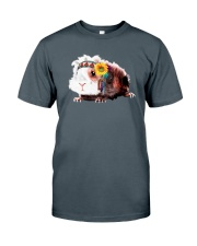 Guinea Pig And Sunflower Classic T-Shirt tile