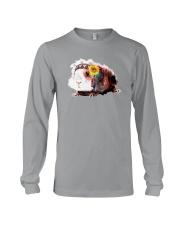 Guinea Pig And Sunflower Long Sleeve Tee thumbnail