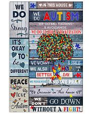 In This Autism House 11x17 Poster front