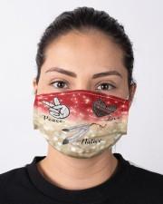 Native Peace Love Cloth face mask aos-face-mask-lifestyle-01