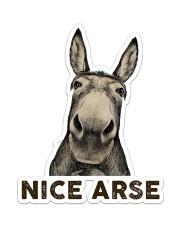 Donkey Nice Arse  Sticker - Single (Vertical) front