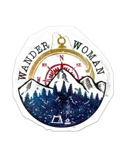 Camping Wander Woman Sticker - Single (Vertical) front