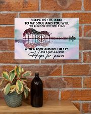 Hippie Knock On The Door 17x11 Poster poster-landscape-17x11-lifestyle-23