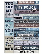 Dear My Police Son Poster NTV 11x17 Poster front