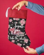 Jesus Take The Wheel Christmas Stocking aos-christmas-stocking-lifestyles-02