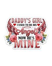 Daddy Angel Sticker - Single (Horizontal) front