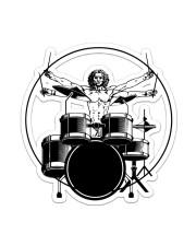 Vitruvian Man Drummer  Sticker - Single (Vertical) front