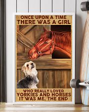 Horse And Yorkie 11x17 Poster lifestyle-poster-4