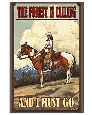 Horse The Forest Is Calling 11x17 Poster front