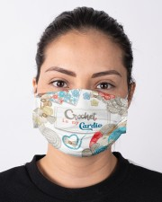 Crochet Is My Cardio Cloth face mask aos-face-mask-lifestyle-01