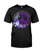 Peace Is My Weapon Classic T-Shirt front