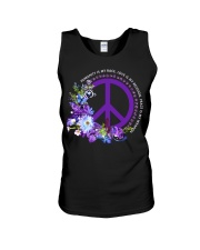 Peace Is My Weapon Unisex Tank thumbnail