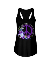 Peace Is My Weapon Ladies Flowy Tank thumbnail