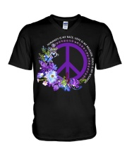 Peace Is My Weapon V-Neck T-Shirt thumbnail