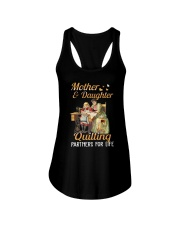 Quilting Partners For Life Ladies Flowy Tank thumbnail