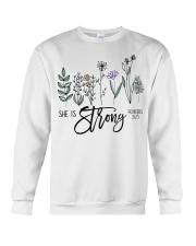She Is Strong  Crewneck Sweatshirt thumbnail