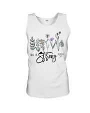 She Is Strong  Unisex Tank thumbnail