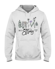 She Is Strong  Hooded Sweatshirt thumbnail