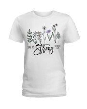 She Is Strong  Ladies T-Shirt thumbnail