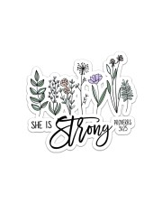She Is Strong  Sticker - Single (Horizontal) front
