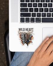 Native Wild Heart Sticker - Single (Vertical) aos-sticker-single-vertical-lifestyle-front-11