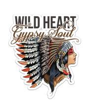 Native Wild Heart Sticker - Single (Vertical) front