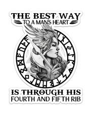 Viking Girl  Sticker - Single (Vertical) front