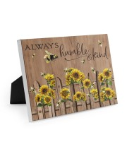 Always Humble And Kind 10x8 Easel-Back Gallery Wrapped Canvas thumbnail