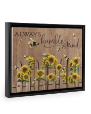 Always Humble And Kind 14x11 Black Floating Framed Canvas Prints thumbnail
