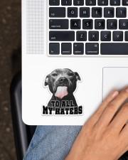 For Pitbull Lovers Sticker - Single (Vertical) aos-sticker-single-vertical-lifestyle-front-11