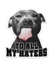 For Pitbull Lovers Sticker - Single (Vertical) front
