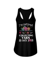 Collecting Yarn Is My Job Ladies Flowy Tank thumbnail