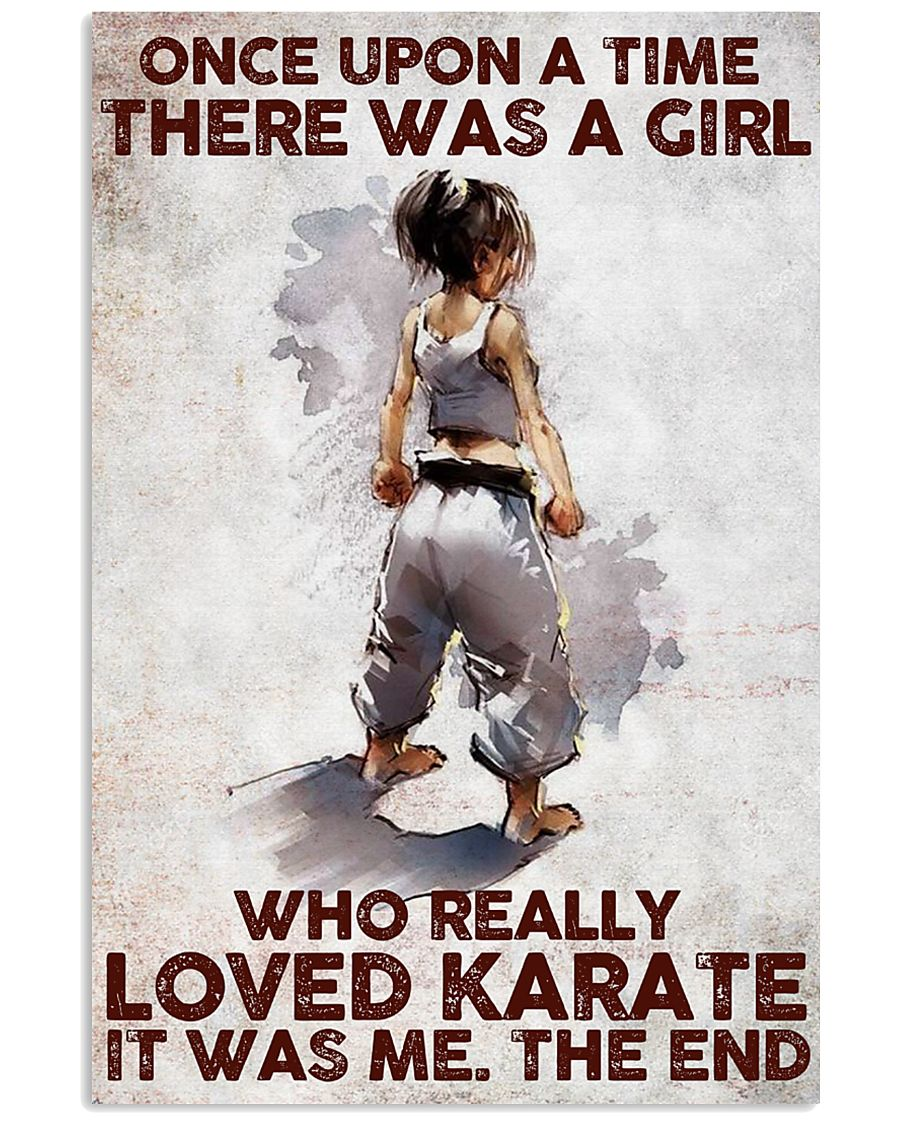 A Girl Really Loved Karate 11x17 Poster